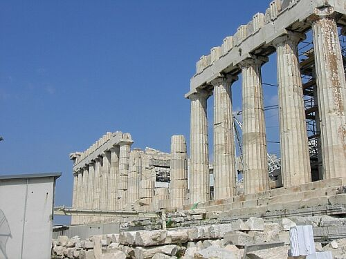 Parthenon.Southern.Side.damaged